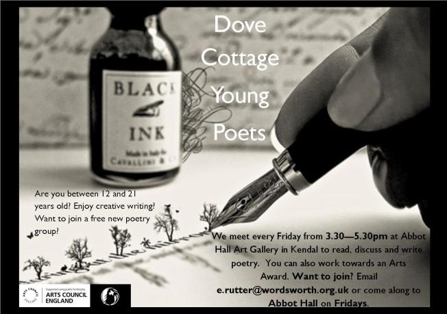 Dove Cottage Young Poetsposter